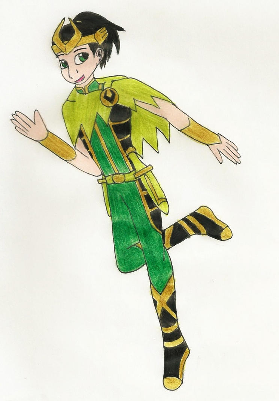 Teen Loki by Kereea