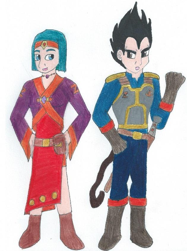 Dragon Ball Guild: Vegeta and Bulma by Kereea
