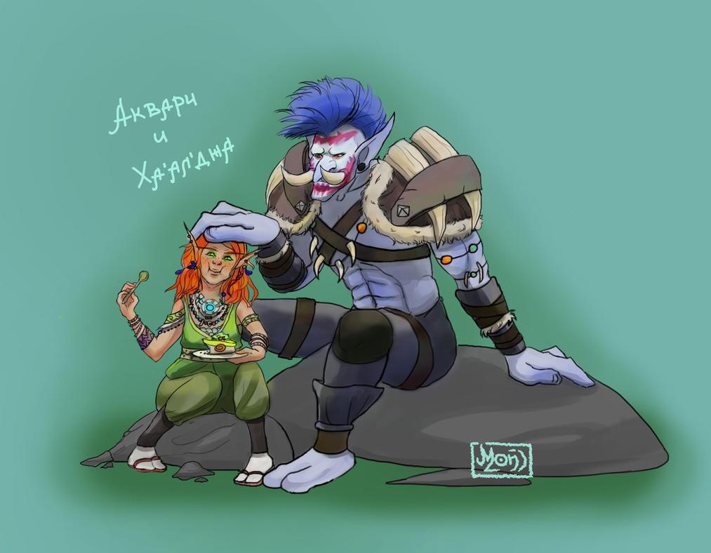 An elf and СЂСѓРє troll porncraft pic