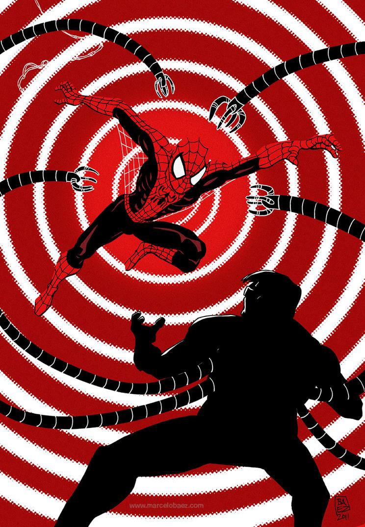 Spiderman by Marcelo-Baez