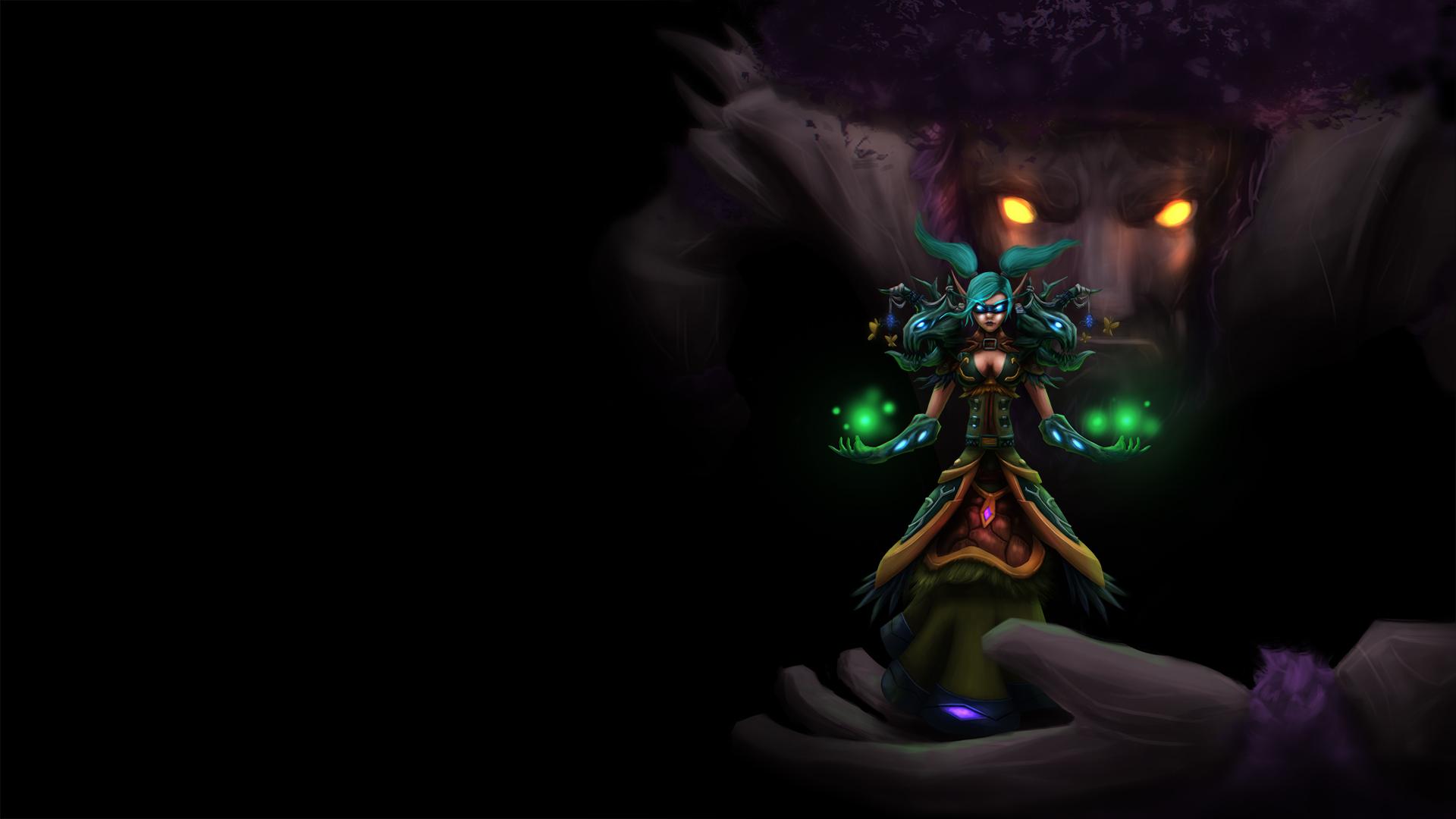 World Of Warcraft Resto Druid By Oshaddixo On Deviantart