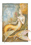 Mermaid with seahorses