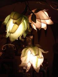 lotus flower lamp by AvantFae