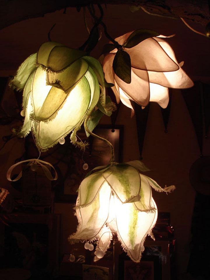 Lotus Flower Lamp By Avantfae On Deviantart