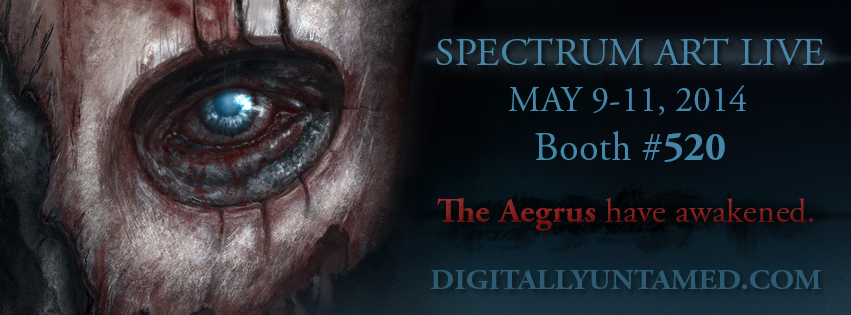 Aegrus Promo for Spectrum Fantastic Art Live by CrystalSully