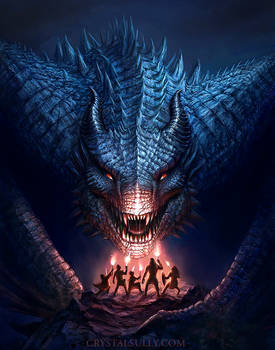 The Dragon Lords False Idols Cover Illustration