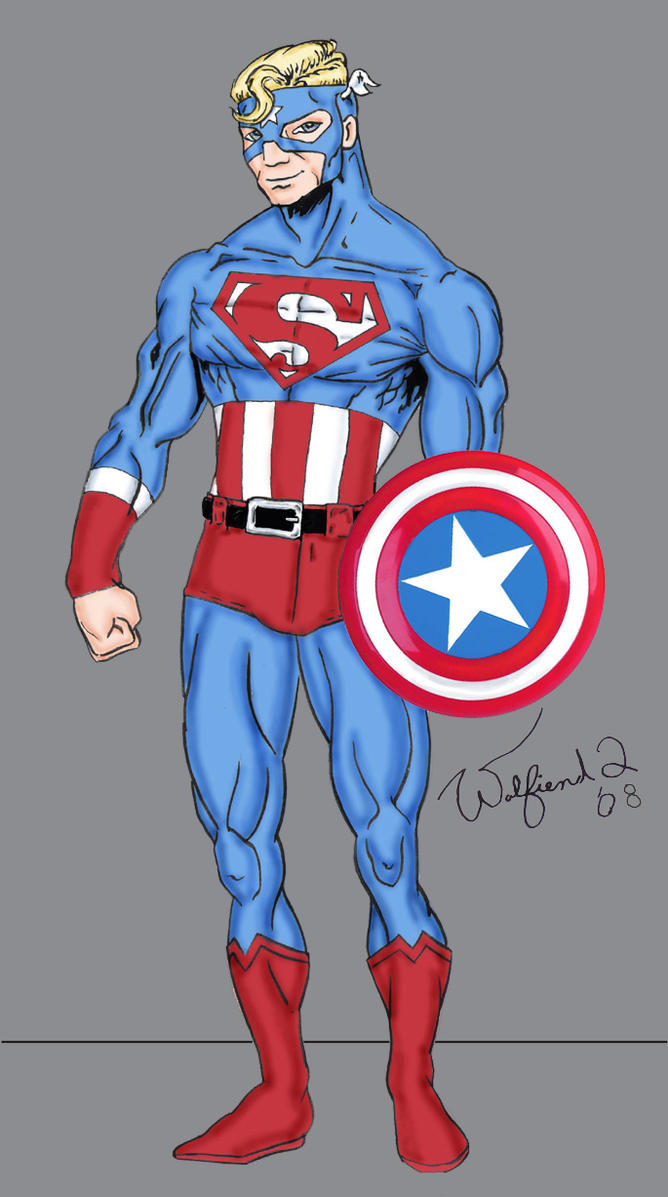Super Soldier re-design by Walfiend2