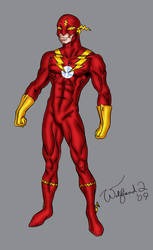 Johnny Quick redesign by Walfiend2