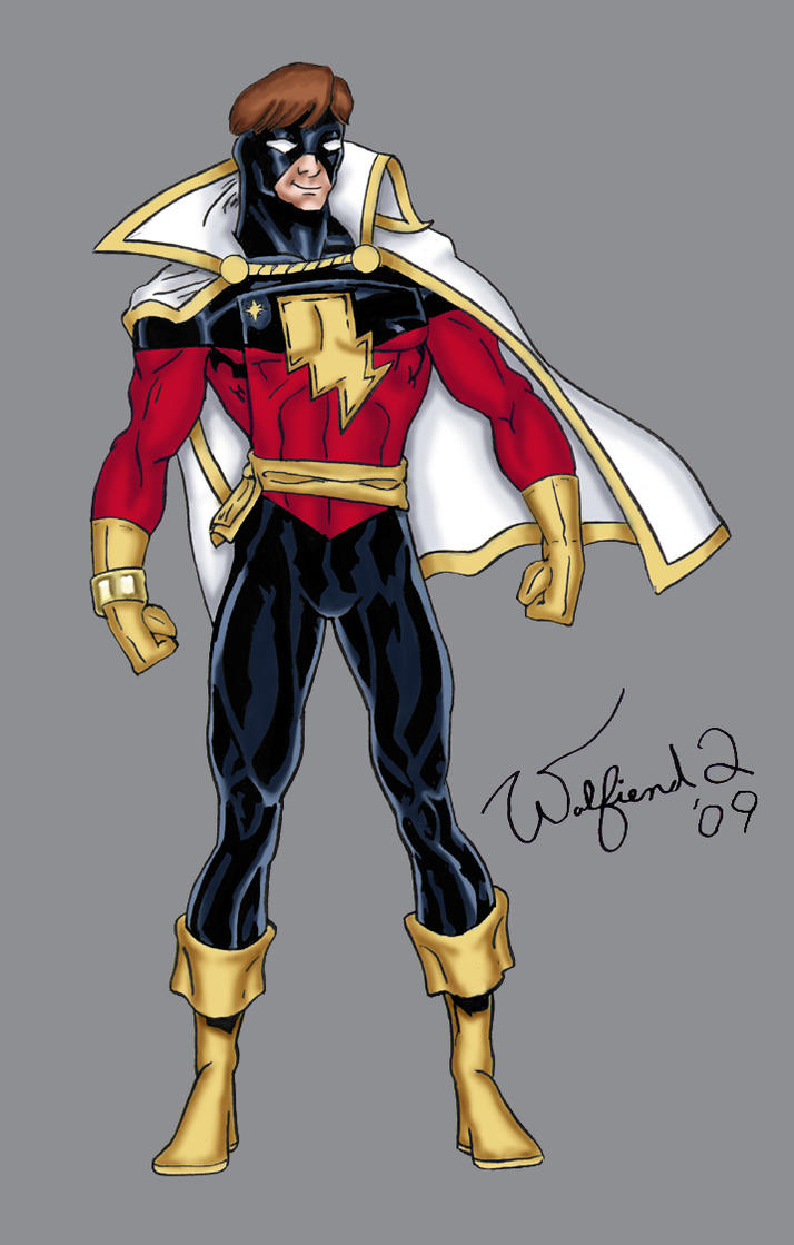 Captain Marvel - Amalgam by Walfiend2