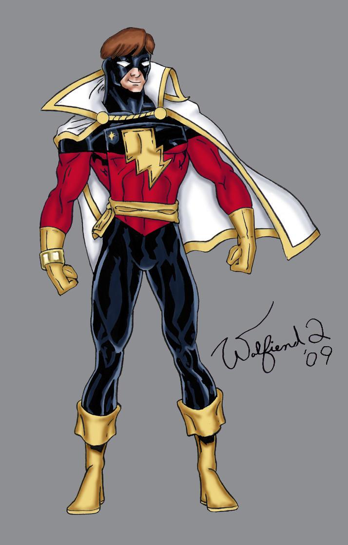 Captain Marvel - Amalgam by Walfiend2
