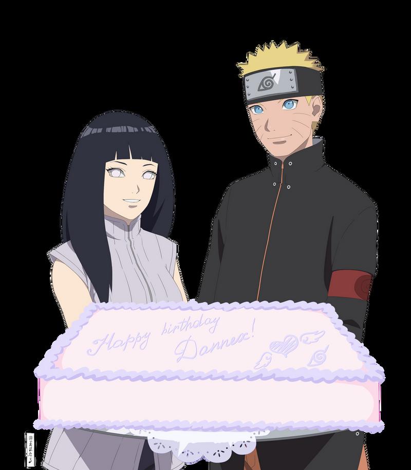 NaruHina. Happy Birthday, Dannex-kun! By Yumi-Ho On DeviantArt