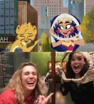 Wonder Woman and Cheetah remake