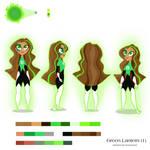 Green Lantern reference