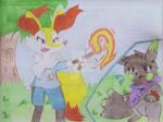 -RQ- Rosie used Fire Spin! by Yoshidrawer32