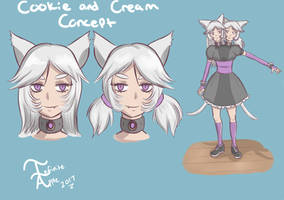 Cookie and Cream Concept