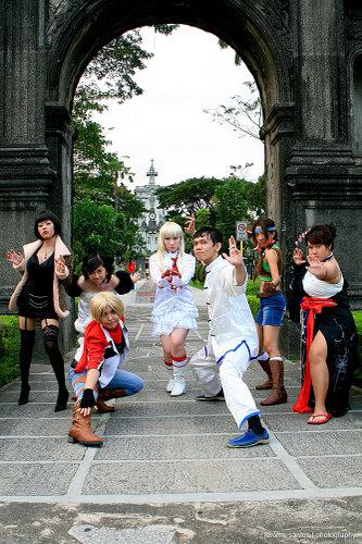 Tekken photoshoot: group2 by nekomiKasai