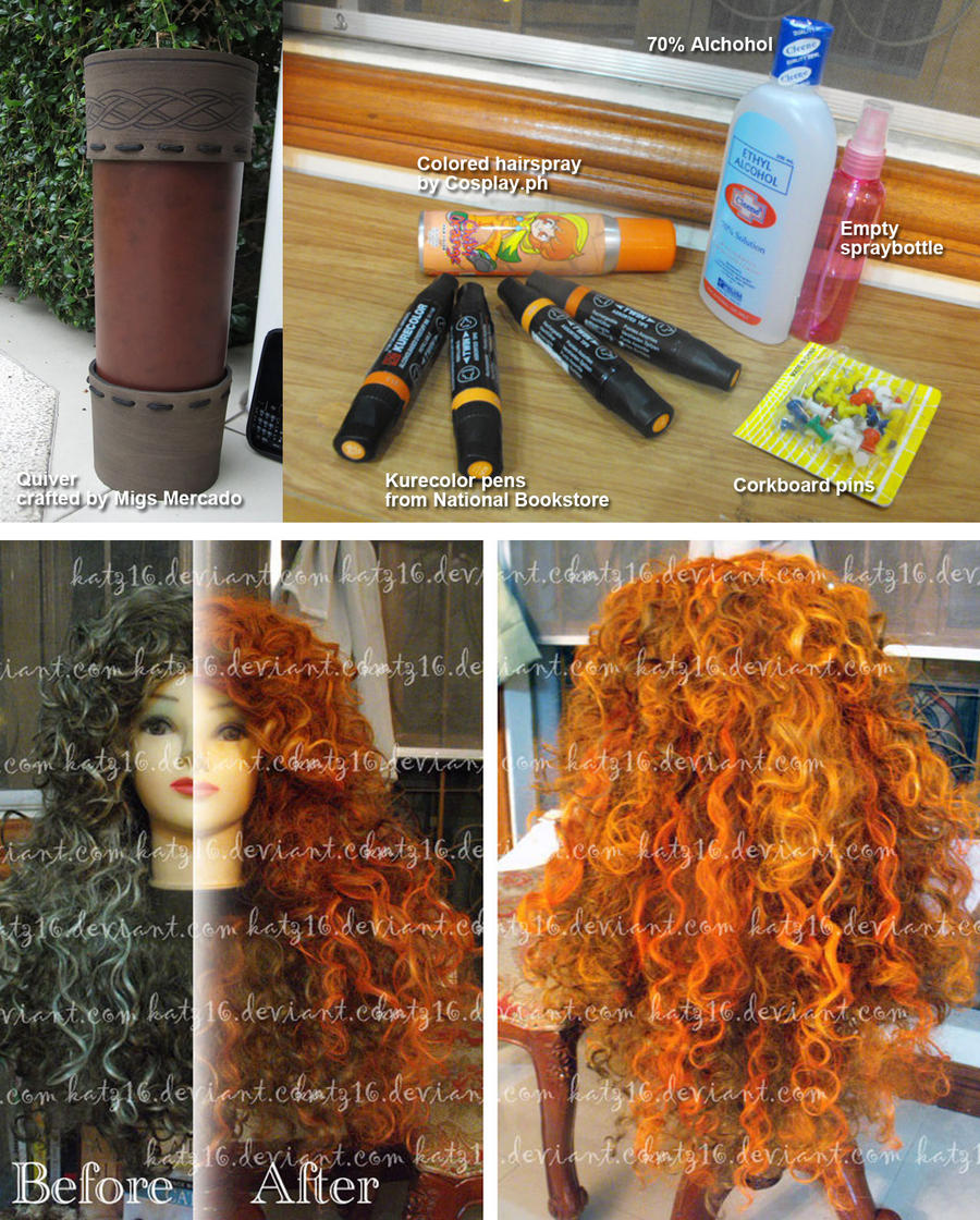 WIP: Merida wig by nekomiKasai