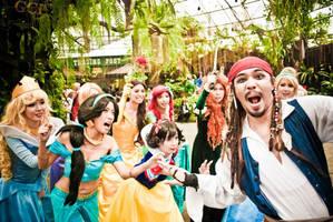 Jack sparrow steals royalty by nekomiKasai