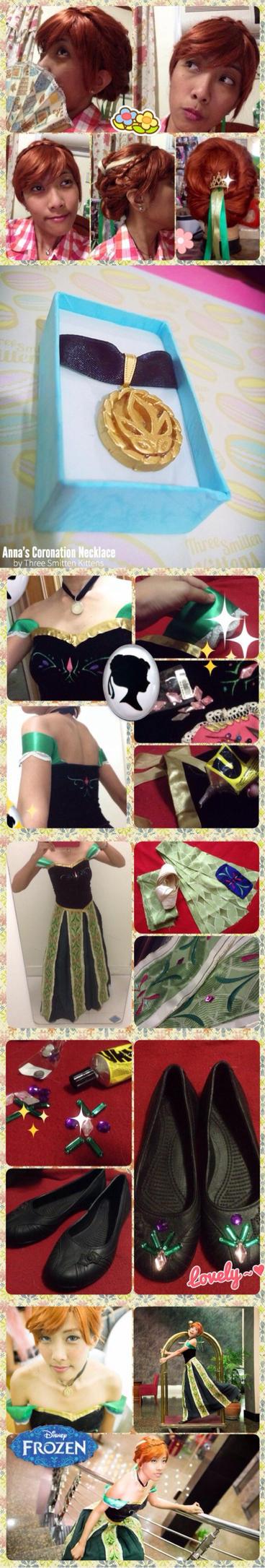 WIP - Anna coronation dress by nekomiKasai