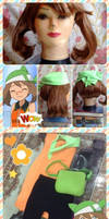 WIP: May's Emerald costume