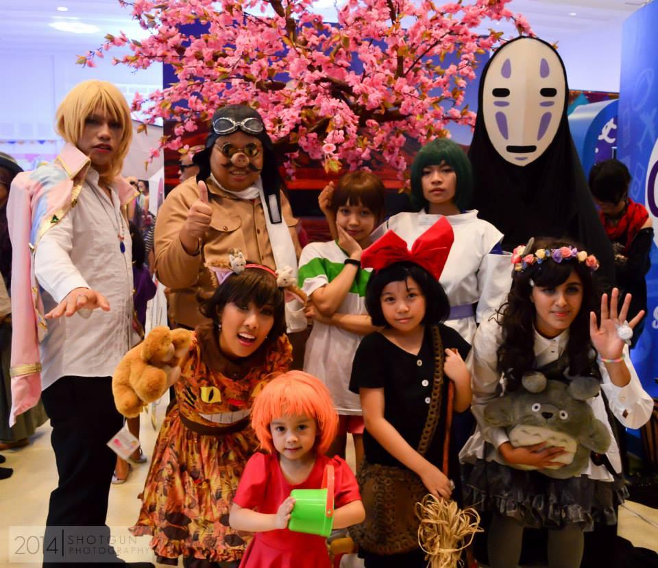 Kawaii In Manila 2: Celebrating All Things Uber Cool and Kawaii! - Studio Ghibli cosplay group!