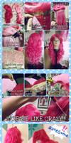 WIP - Improved Pinkie Pie wig 2.0