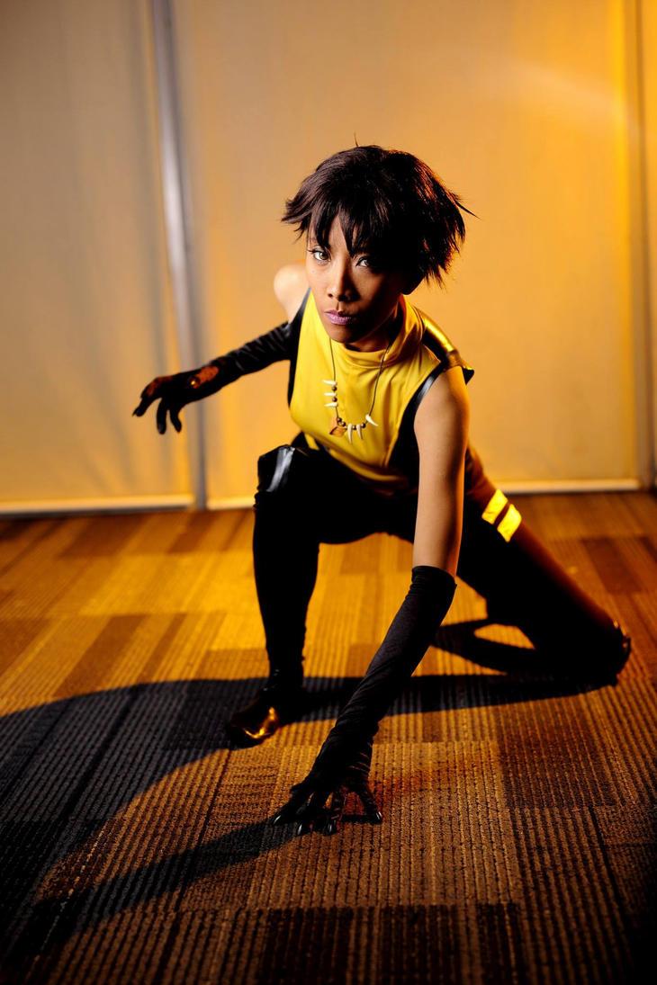 CW Vixen: Ready to pounce by nekomiKasai