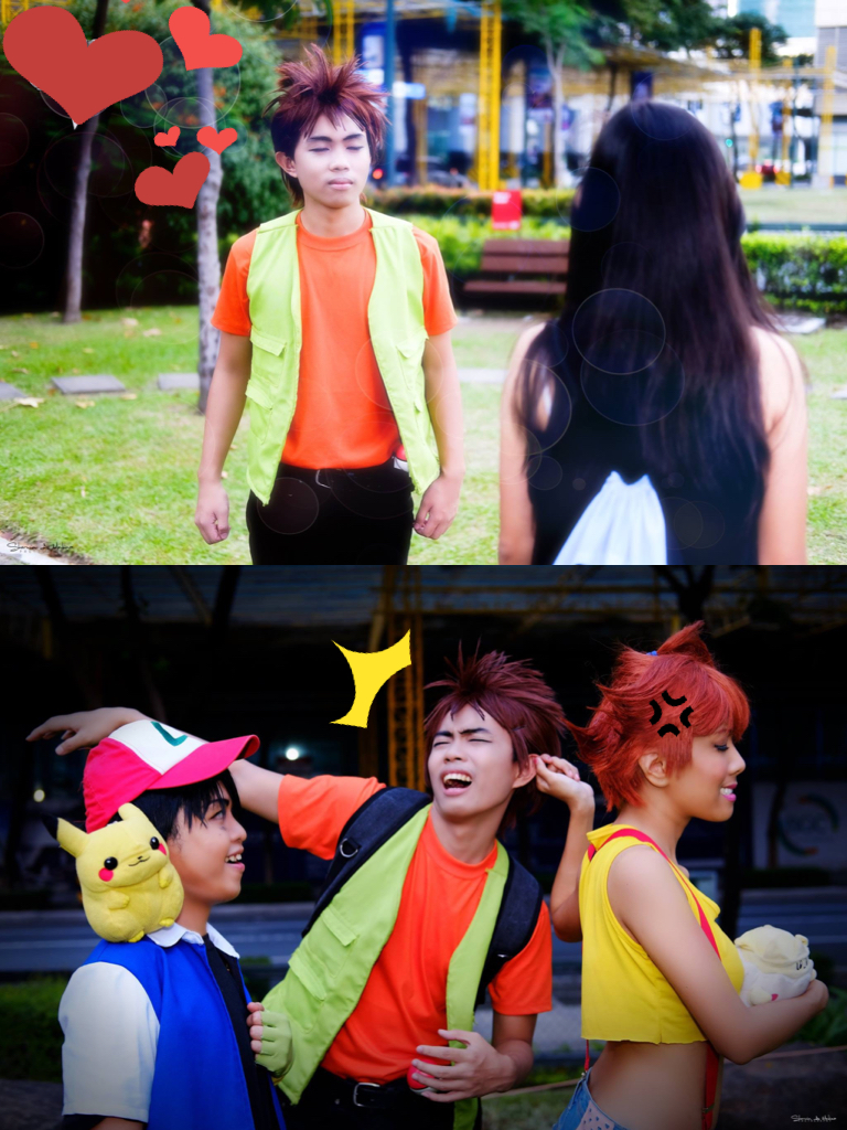PKM: Don't kiss up Brock by nekomiKasai
