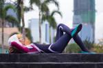 Spider-Gwen: Just chillin'
