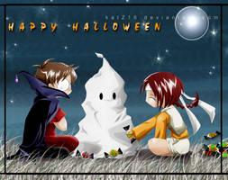 Happy Halloween by nekomiKasai