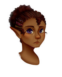 Elf Child 1 by Nachtgrun