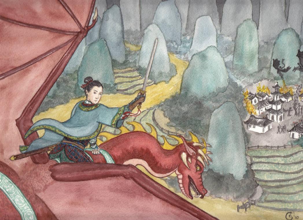 Hua Mulan Goes To War by Qitian
