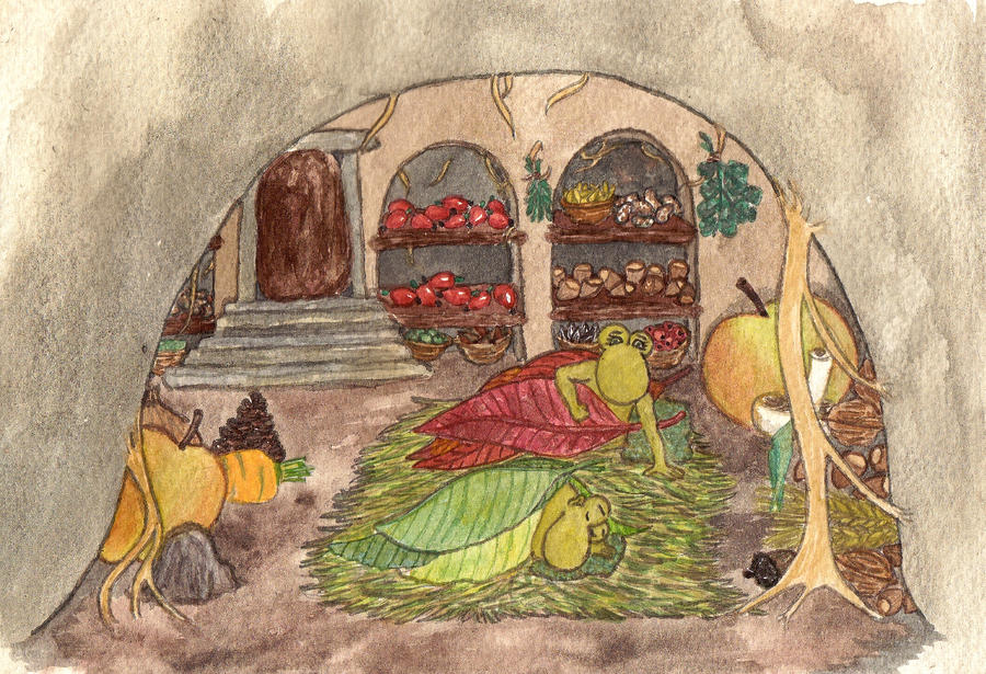 Hibernating Tater Trolls by Qitian
