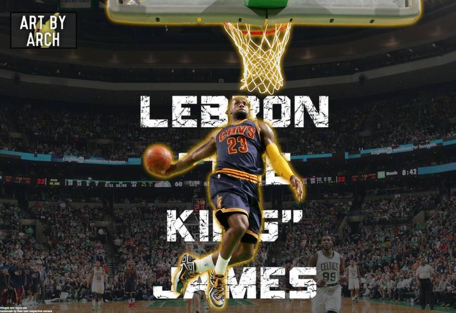 Lebron James Cavaliers Dunk Wallpaper
