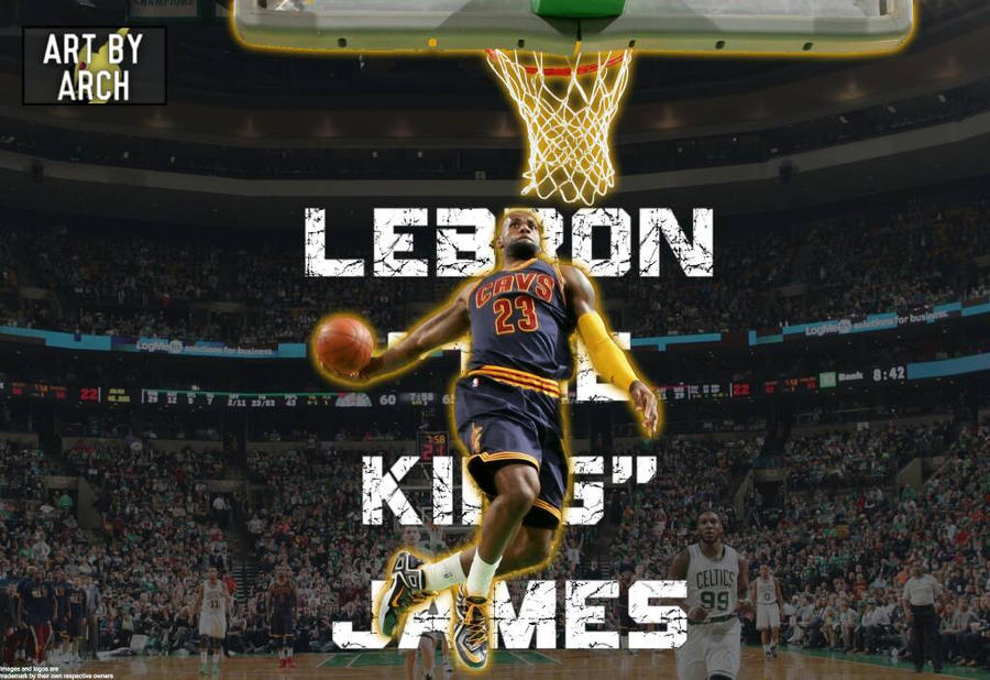 Lebron James Dunk Wallpaper By Arch By Arch019 On Deviantart