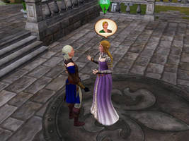 Impa And Zelda Cap