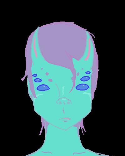 Monster Girl by larouxdevil