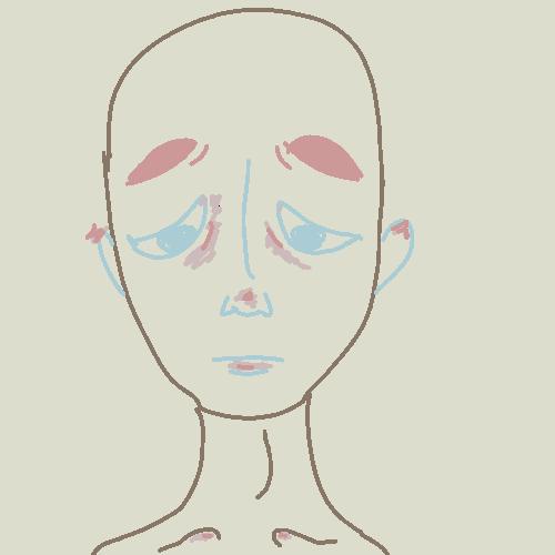 Sadness by larouxdevil