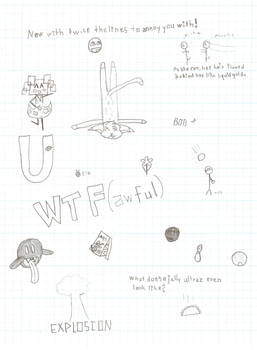 Brain Dump of Drawings