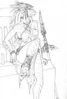 Dragonborn Watcher by BanditFrosty