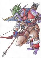 World of Warcraft Troll Hunter by BanditFrosty