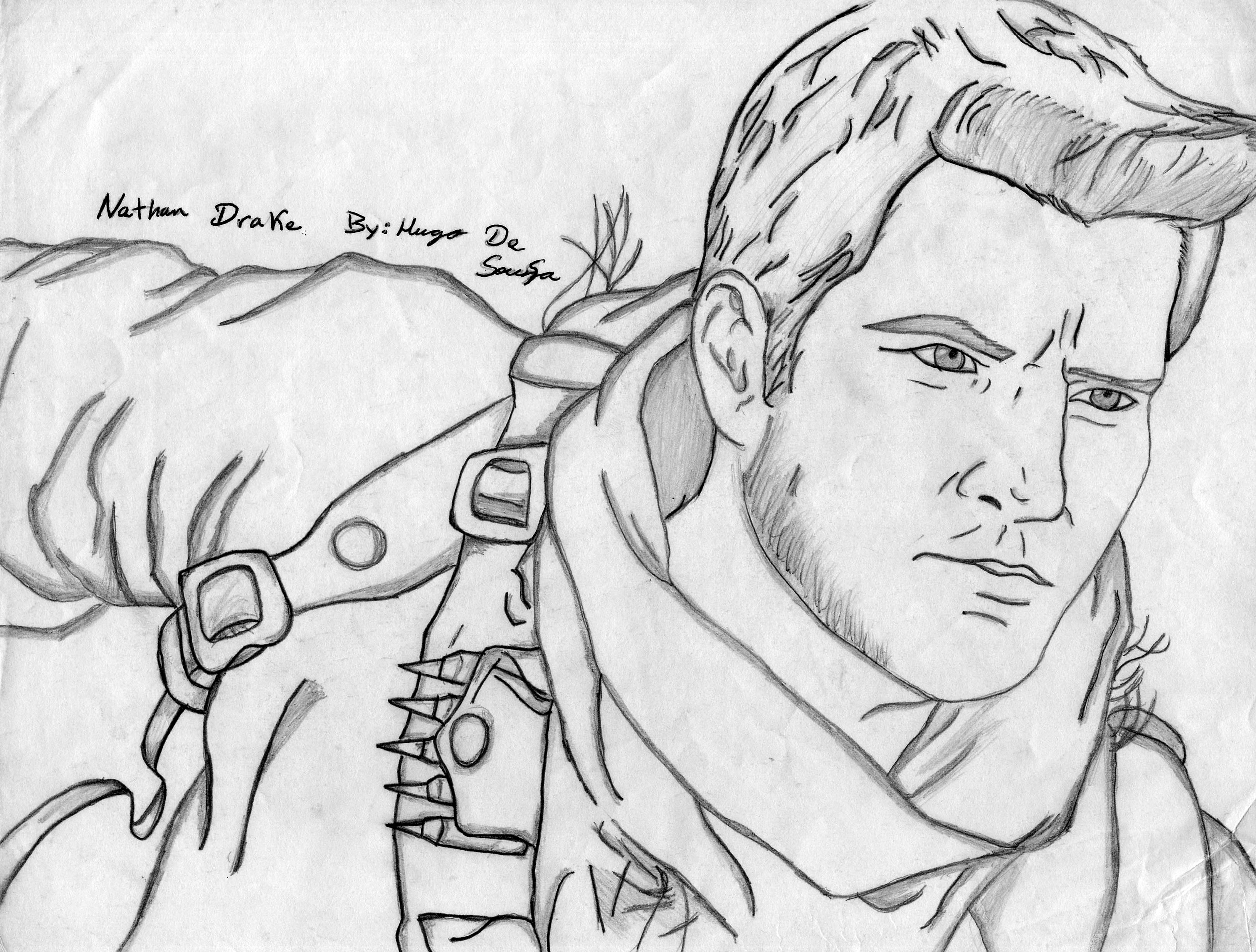Nathan Drake Uncharted 3 Drake S Deception By Hugodesousa On