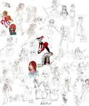 May-July sketches part 1