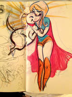 Krypto sketch by TracyLeeQuinn
