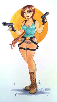 Lara Croft Commission