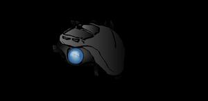 Logitech M570 trackball -  #DAMouseDraw