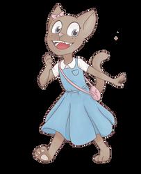 Dressy cat