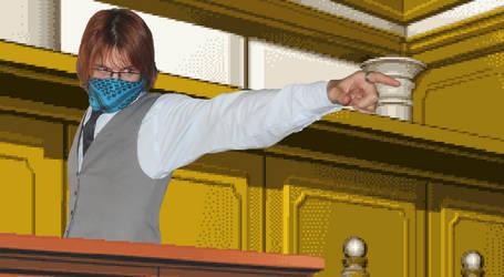 Ryu ID OBJECTION by SaberclawRyu