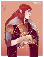 Maedhros by Egobarri
