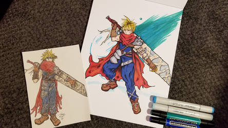Redraw: Kingdom Hearts Cloud - Old and New